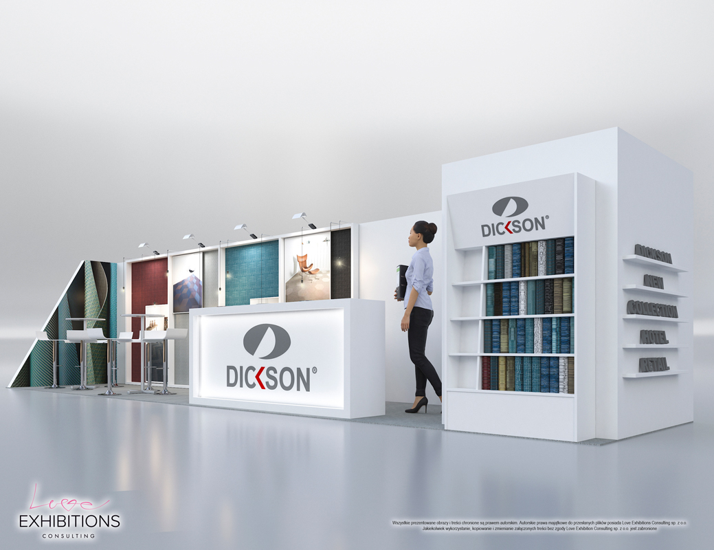 Exhibition Stand Visualisation : 3d architectural visualizations projekty dickson woven flooring