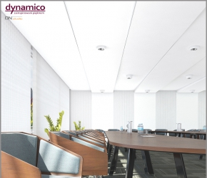 Interior visualization and interior design of a boardroom.