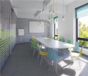 Interior Design and 3d commercial Interior visualisations of a boardroom.