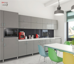 Interior Design and 3d commercial Interior visualisations of a cantine.