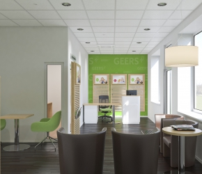GEERS Foundation - commercial interiors visualisation