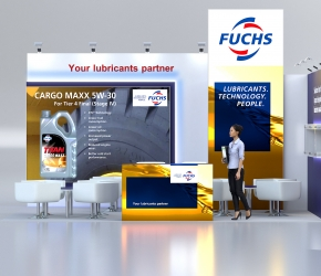 Exhibition stand visualisations