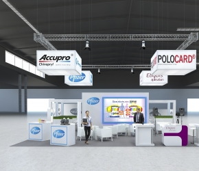Pfizer exhibition stand visualisation
