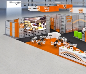 Profi Auto exhibition stands visualisations