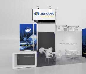 zetkama exhibition stand visualisation