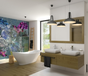 MASSI bathroom interior visualisations
