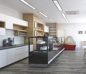 Commercial interior visualisations