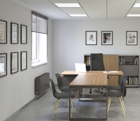 Copos office - cpmmercial interior visualisations
