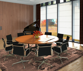 director's office interior visualization interior design