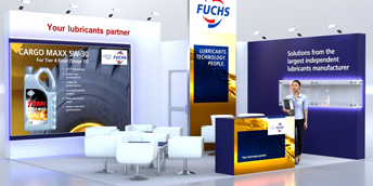 Exhibition stands visualisations